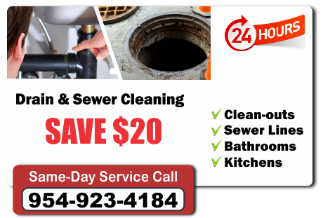 Drain or Sewer Cleaning Service