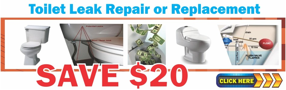 Toilet Leak Repairs in Broward County